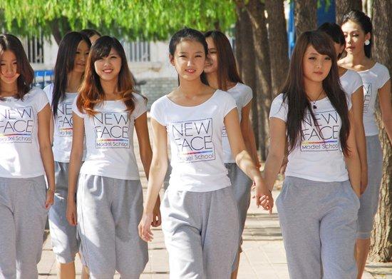 北京新面孔模特学校 校园