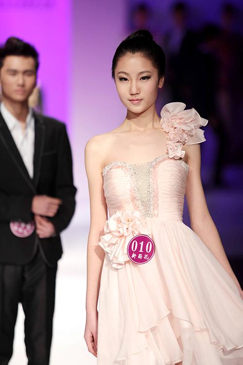 新面孔中国模特大赛(礼服)