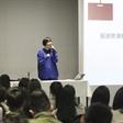 高校教师讲座 刘筱君老师讲解模特市场推广