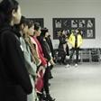 模特艺考招生会 北京服装学院服装表演专业课考试
