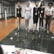 模特艺考招生会 中国传媒大学南广学院专业课考试