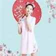 这两款时尚印花旗袍让你的可爱指数不断攀升