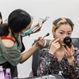 模特大赛:长沙总决赛选手化妆