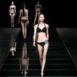 模特艺考生期中考试-泳装展示