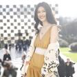 超模何穗亮相Dior 2018春夏高定系列大秀