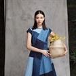 彭思雨出镜阿尤2018春夏广告大片 蓝色中预见自己