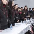 newface2019表演专业招生会北京城市学院现场咨询环节