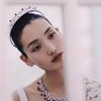 国际超模张丽娜受邀出席Pans璞安上海乐园游踪系列高级珠宝展