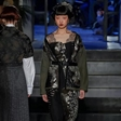 2个品牌大秀!模特王涵亮相米兰时装周