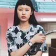 模特魏安琪拍摄戴维德珀手表广告大片