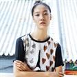 模特张晓彤拍摄POPSHOW风格派时尚大片