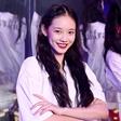 孙伊涵出席Paul Frank2020春夏时装秀