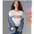 孙伊涵拍摄Gap50周年广告