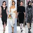 超模张丽娜2020春夏四大时装周亮相32场秀35个LOOK
