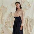 张晓彤拍摄UNITLESS2020春夏广告