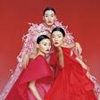 张丽娜演绎《Vogue》2月刊华美盛世主题封面