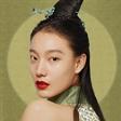 模特张晓彤演绎CigaLong X大明风华 联名彩妆广告