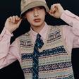 李旼皙拍摄《GQ》二月刊时尚大片