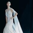 王艺最新婚纱大片拍摄