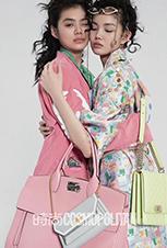 """模特李芙瑶出镜《时尚COSMO》4月刊""""多彩童真 Colorful in heart """""""
