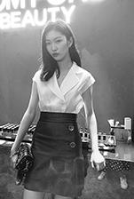 模特全涛出席Tomford天猫超级品牌日活动