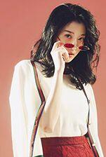 模特刘思如拍摄DILI服装片