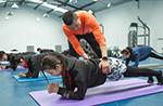 NEWFACE182期职业模特健身课